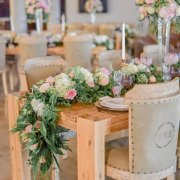 floral runner - Weddings By Francois