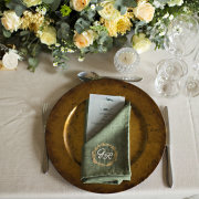 table settings - Weddings By Francois