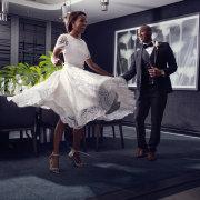 lace, wedding dress, wedding dress - The Maslow Hotel