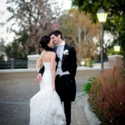 dance, suit, wedding dress
