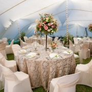 outside reception, tent, tent venue, venue, wedding venue - Nooitgedacht