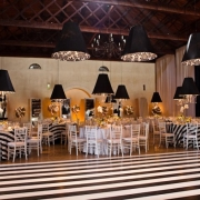 black and white, reception, venue, wedding venue - Nooitgedacht