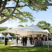 ceremony, outdoor ceremony, outside ceremony