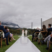 outdoor ceremony - Quoin Rock