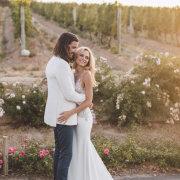 bride and groom, bride and groom, bride and groom - Quoin Rock