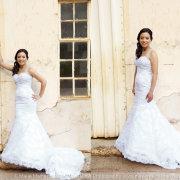 wedding dress - Marié Malherbe Makeup, Hair & Photography