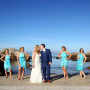 beach, bridal party, bridesmaids - Marié Malherbe Makeup, Hair & Photography