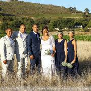 bridesmaids, groomsmen, countryside - Marié Malherbe Makeup, Hair & Photography