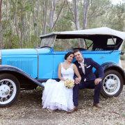 bride and groom, car - Marié Malherbe Makeup, Hair & Photography
