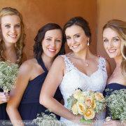 bridesmaids, makeup, bouquet - Marié Malherbe Makeup, Hair & Photography