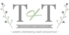 Toast & Tassels Event Stationary