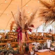floral centrepiece - Wolfkop Camping Villages - Wedding Venue & Accommodation