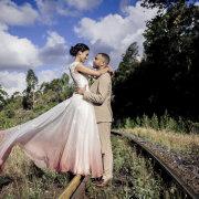 bride and groom, bride and groom, wedding dress, wedding dress, wedding dress - Houw Hoek Hotel