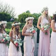 bridesmaids, bridesmaids, bridesmaids dresses, bridesmaids dresses, flower crowns - Cavalli Estate