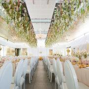 candles, hanging florals - Cavalli Estate