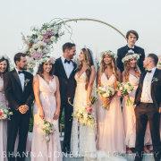 bridal party, wedding party - Cavalli Estate