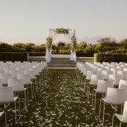 arches, outdoor ceremony - Cavalli Estate