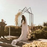 arches, ceremony, outdoor ceremony - Cavalli Estate