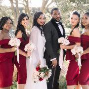 bridal party - Cavalli Estate