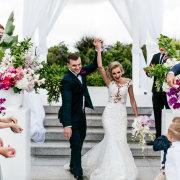 bride and groom, bride and groom, bride and groom, outdoor ceremony - Cavalli Estate