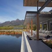 dam, mountain, venue, winelands, luxury winelands venue - Cavalli Estate