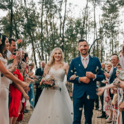 bride and groom, bride and groom, bride and groom, confetti - Bianca Franz Photography