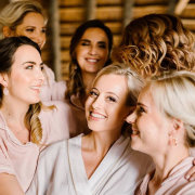 bride and bridesmaids - A Dream Come True Events