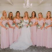 bride and bridesmaids - A Dream Come True Events