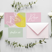 invitations, wedding stationery - Bacht_Design