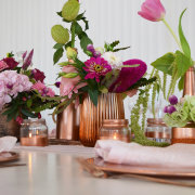 floral decor, table decor, table decor, table decor - Magriki Decor & Styling