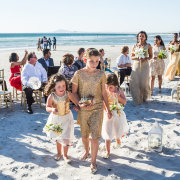 flower girls - Lagoon Beach Hotel