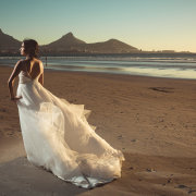 beach, wedding dress - Lagoon Beach Hotel