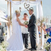 wedding arch - Lagoon Beach Hotel