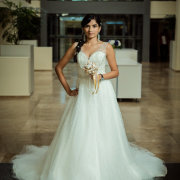 wedding dress - Lagoon Beach Hotel