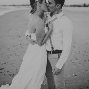 bride, groom, kiss - Lagoon Beach Hotel
