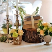 flowers, table numbers - La Tilma Weddings