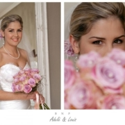 bride, bouquet - La Tilma Weddings