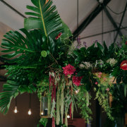 floral decor, hanging florals, hanging greenery - The Grand Botanist