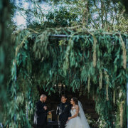 bride and groom, bride and groom, bride and groom, outdoor ceremony - The Grand Botanist
