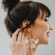 bridal accessories, earrings - Terusa Anne Jewellery
