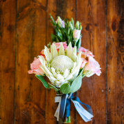 bouquet, flowers, proteas and roses - Alexander Smith Photography