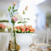 floral centrepieces - Alexander Smith Photography