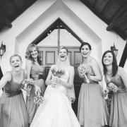 bouquet, bride, bridesmaids, bridesmaids - Alexander Smith Photography