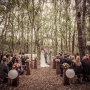 forest, outside ceremony - Alexander Smith Photography