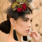 earings, hair accessorie, makeup, makeup - Angelique Kuhn Professional Make Up