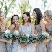 bouquet, bridesmaids dress - Avant Garde Weddings & Events