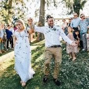 bride and groom, bride and groom, bride and groom, confetti - Bells & Whistles