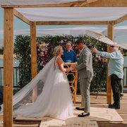 bride and groom, bride and groom, bride and groom, outdoor ceremony - Bells & Whistles