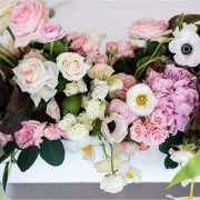 floral centrepieces - Bells & Whistles