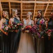 bride and bridesmaids - Bells & Whistles